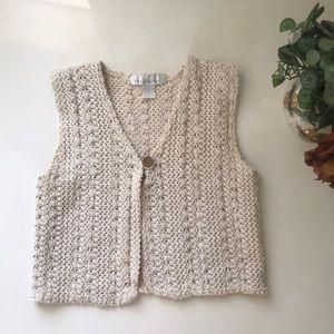 The Limited Vintage Knit Vest